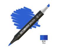Маркер SketchMarker Brush B101 Blue (Синий) SMB-B101