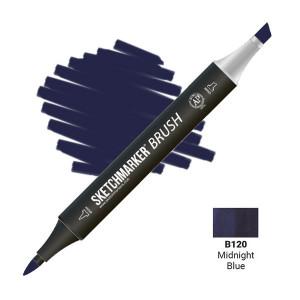 Маркер SketchMarker Brush B120 Северный синий SMB-B120