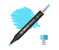 Маркер SketchMarker Brush B13 Clear Aqua (Прозрачная вода) SMB-B13