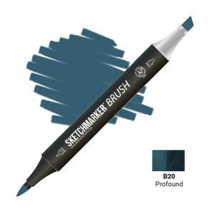 Маркер SketchMarker Brush B20 Profound (Глубоководный) SMB-B20