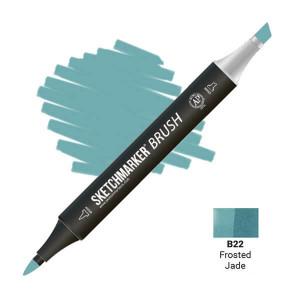 Маркер SketchMarker Brush B22 Frosted Jade (Морозный нефрит) SMB-B22