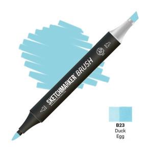 Маркер SketchMarker Brush B23 Duck Egg (Утиное яйцо) SMB-B23