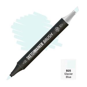 Маркер SketchMarker Brush B25 Голубой ледник SMB-B25
