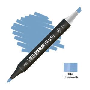 Маркер SketchMarker Brush B53 Stonewash (Пемза) SMB-B53