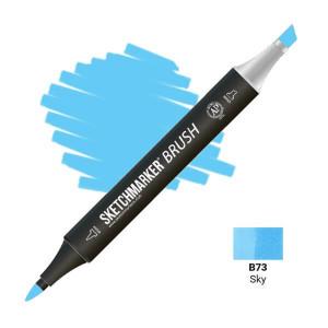 Маркер SketchMarker Brush B73 Sky (Небесный) SMB-B73