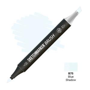 Маркер SketchMarker Brush B75 Blue Shadow (Синяя тень) SMB-B75