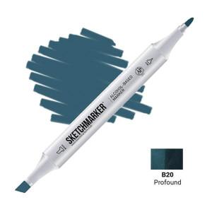 Маркер Sketchmarker B20 Profound (Глубоководный) SM-B20