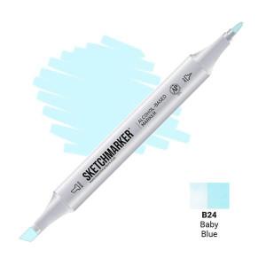 Маркер SketchMarker B24 Детский голубой SM-B24