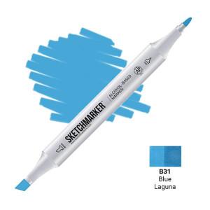 Маркер Sketchmarker B31 Blue Laguna (Синяя Лагуна) SM-B31