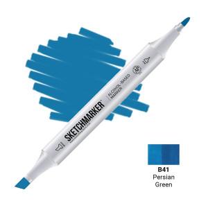 Маркер Sketchmarker B41 Persian Green (Персидский зеленый) SM-B41