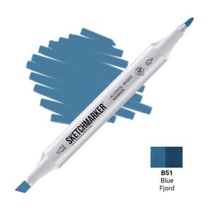 Маркер SketchMarker B51 Синий фьорд SM-B51