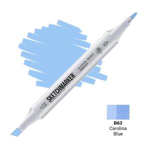 Маркер Sketchmarker B63 Carolina Blue (Синяя Каролина) SM-B63