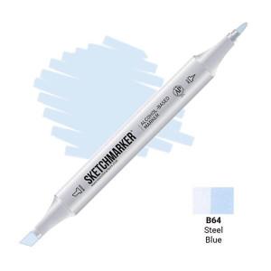 Маркер Sketchmarker B64 Steel Blue (Синяя сталь) SM-B64