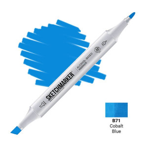 Маркер Sketchmarker B71 Cobalt Blue (Голубой кобальт) SM-B71
