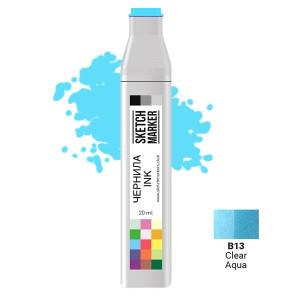 Чернила для маркеров SKETCHMARKER B13 заправка 20 мл Clear Aqua (Прозрачная вода)