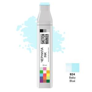 Чернила для маркеров SKETCHMARKER B24 заправка 20 мл Детский голубой