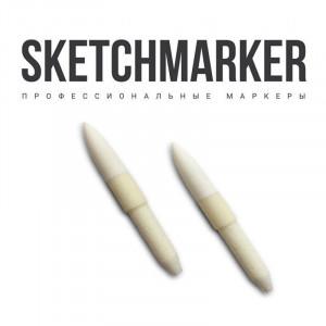Набор 2 сменных пера кисть для Sketchmarker Brush, Spbrush
