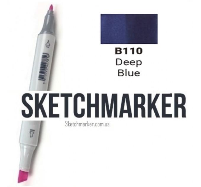 Маркер Sketchmarker Deep Blue (Глубокий синий), SM-B110