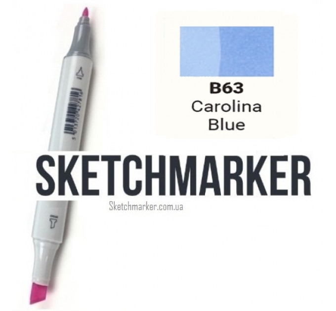 Маркер Sketchmarker Carolina Blue (Синяя Каролина), SM-B063