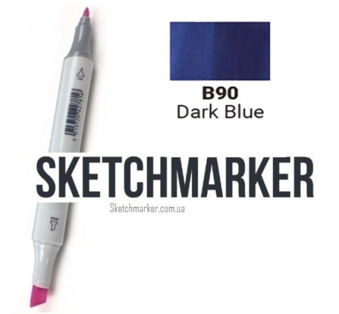 Маркер Sketchmarker Dark Blue (Тёмный синий), SM-B090