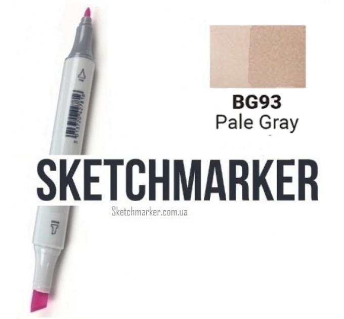 Маркер Sketchmarker Pale Gray (Бледный серый), SM-BG093