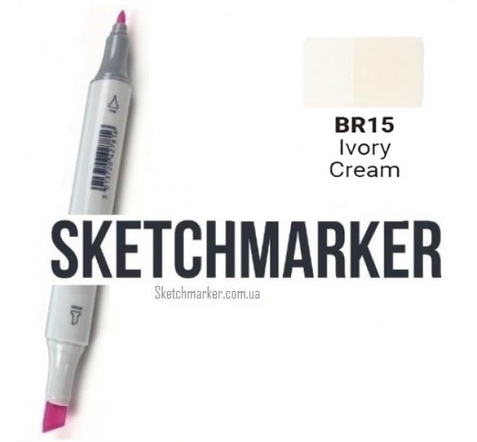 Маркер Sketchmarker Ivory Cream (Кремовый), SM-BR015