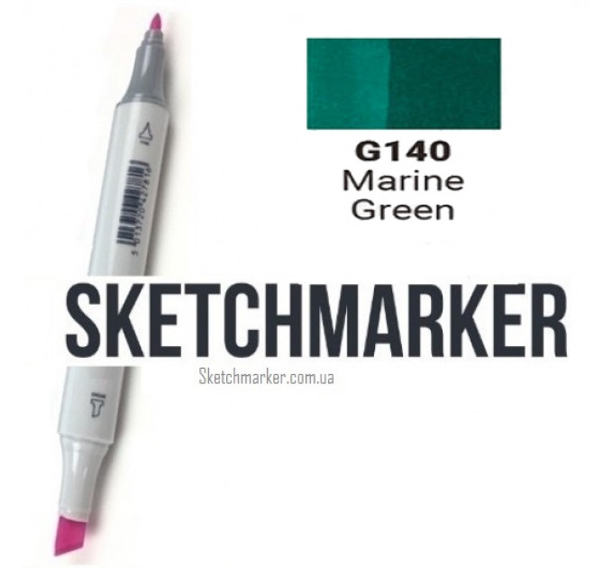 Маркер Sketchmarker Marine Green (Морской зеленый), SM-G140