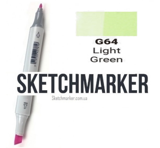 Маркер Sketchmarker Light Green (Светло зеленый), SM-G064