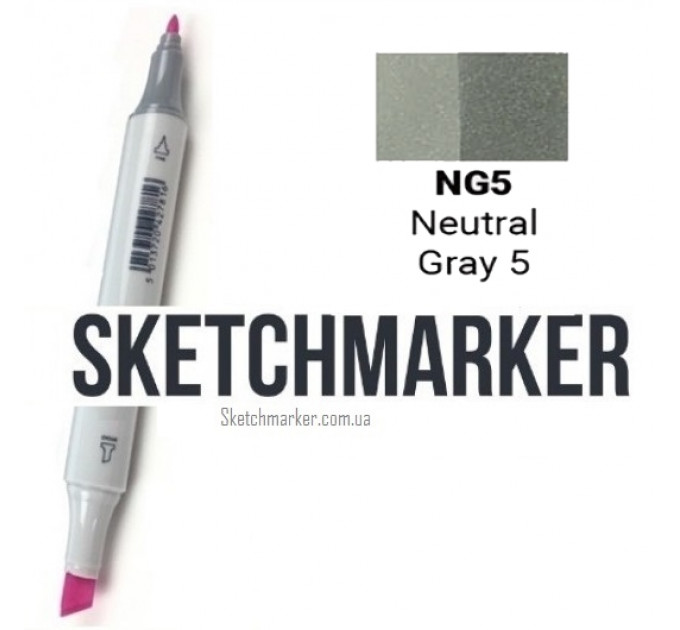 Маркер Sketchmarker Neutral Gray 5 (Нейтральный серый 5), SM-NG05