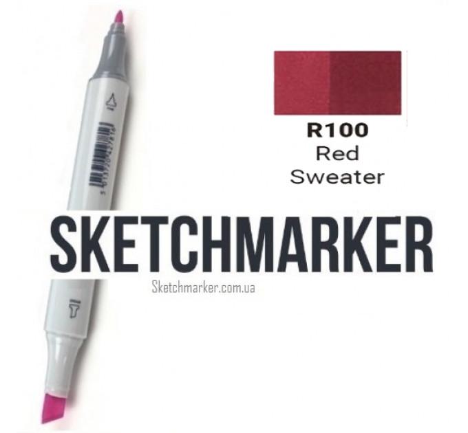 Маркер Sketchmarker Red Sweater (Красный свитер), SM-R100