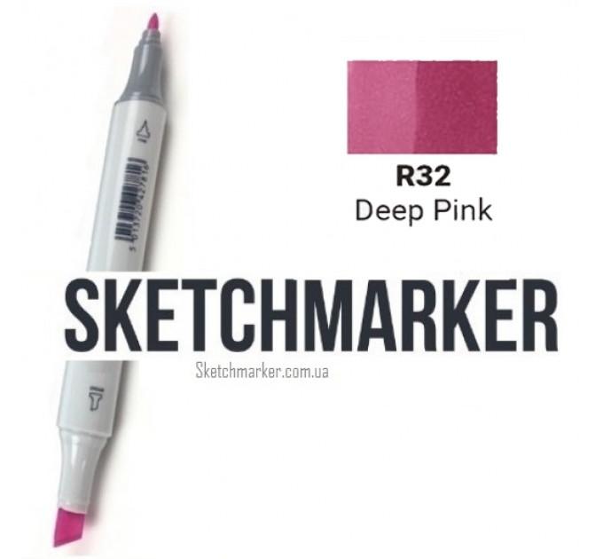 Маркер Sketchmarker Deep Pink (Глубокий Розовый), SM-R032