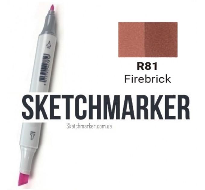 Маркер Sketchmarker Firebrick (Кирпич), SM-R081