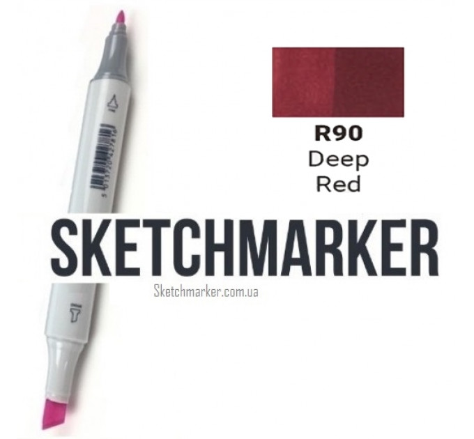Маркер Sketchmarker Deep Red (Глубокий красный), SM-R090