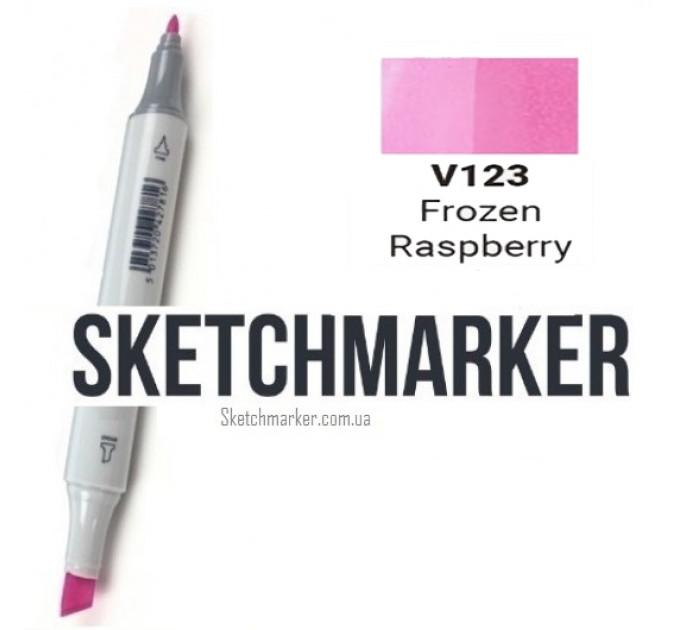 Маркер Sketchmarker Поштучно SKETCHMARKER (2 пера: долото і тонке, 389 відтінки) #f089c5, Цвет: Frozen Raspberry (Замороженная малина), SM-V123
