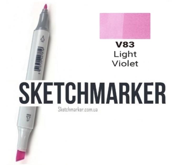 Маркер Sketchmarker Light Violet (Светло фиолетовый), SM-V083