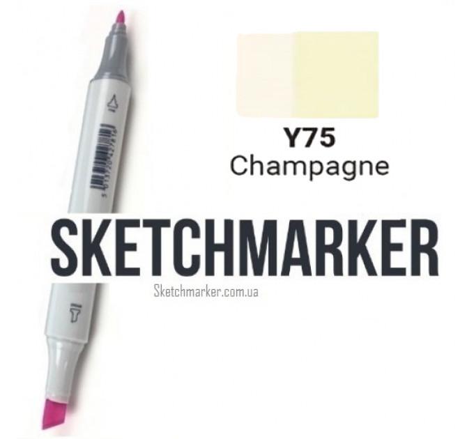 Маркер Sketchmarker Champagne (Шампань), SM-Y075