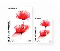Альбом для маркеров A5 SKETCHMARKER ILLUSTRATION PRO PAD (A5, 30 pages, 200gsm)